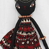 Куклы и пупсы ручной работы. Ярмарка Мастеров - ручная работа Кошечка Африка. Handmade.