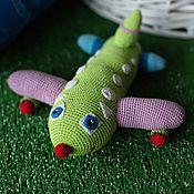 Куклы и игрушки ручной работы. Ярмарка Мастеров - ручная работа Самолет. Handmade.