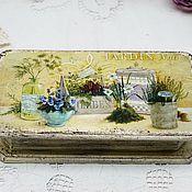 Для дома и интерьера handmade. Livemaster - original item Casket Bill Box Garden Casket for money. Handmade.