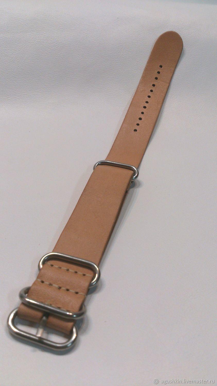Ремешок для часов своими руками из стропы 32
