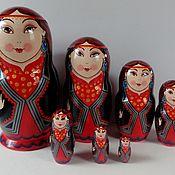 Русский стиль handmade. Livemaster - original item Matryoshka Bashkir