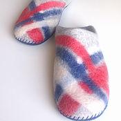 Обувь ручной работы handmade. Livemaster - original item Mens felted Slippers from natural wool.. Handmade.