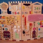 """Бизиборды ручной работы. Ярмарка Мастеров - ручная работа БИЗИБОРД """"Замок"""". Handmade."""