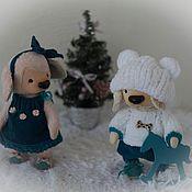 Куклы и игрушки ручной работы. Ярмарка Мастеров - ручная работа Костик и Алёнка. Handmade.