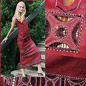 Одежда handmade. Livemaster - original item Suit womens linen КARUNKI. Handmade.