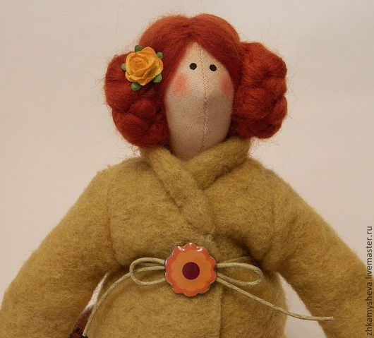 Габриэль. Осенняя феечка. Кукла Тильда.