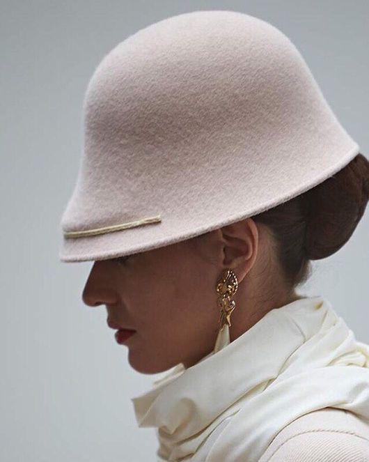 """Шляпы ручной работы. Ярмарка Мастеров - ручная работа. Купить Шляпка """"Лесли"""". Handmade. С подиума, показ, стиль, шляпа"""