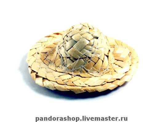 Шляпа соломенная Внешний диаметр 5 см, внутренний 2,5 см Цена: 100 рублей