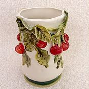 Для дома и интерьера ручной работы. Ярмарка Мастеров - ручная работа Карандашница-ваза. Handmade.
