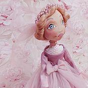 Куклы и игрушки ручной работы. Ярмарка Мастеров - ручная работа Невеста Софи. Handmade.