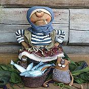 Куклы и игрушки ручной работы. Ярмарка Мастеров - ручная работа Рыбачка Соня.... Handmade.