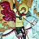 """Иконы ручной работы. Заказать Икона """"Святой Георгий Победоносец""""2. Виталий Кудаев. Ярмарка Мастеров. Резная икона, ясень"""