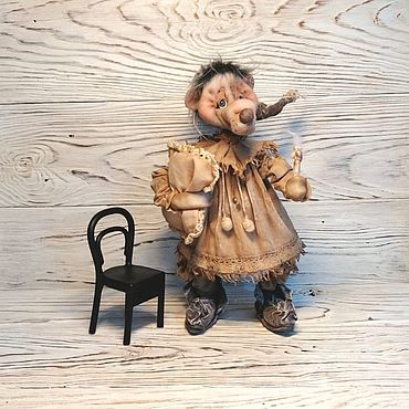 Dolls & toys handmade. Livemaster - original item Dolls interior collectible