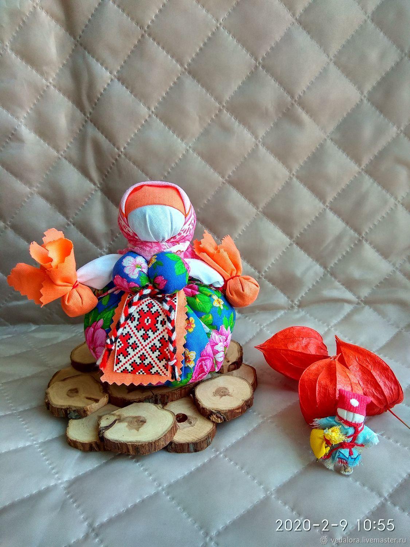 Кубышка травница Шиповник в цвету народная кукла на здоровье, Народная кукла, Салават,  Фото №1