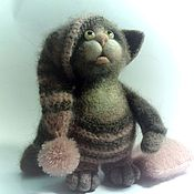 Куклы и игрушки ручной работы. Ярмарка Мастеров - ручная работа кот Пух. Handmade.