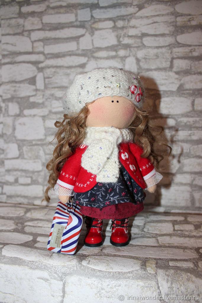 """Интерьерная кукла """"Парижанка"""", Тыквоголовка, Санкт-Петербург,  Фото №1"""