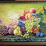 """Картины и панно ручной работы. Ярмарка Мастеров - ручная работа Картина маслом """"Натюрморт"""". Handmade."""