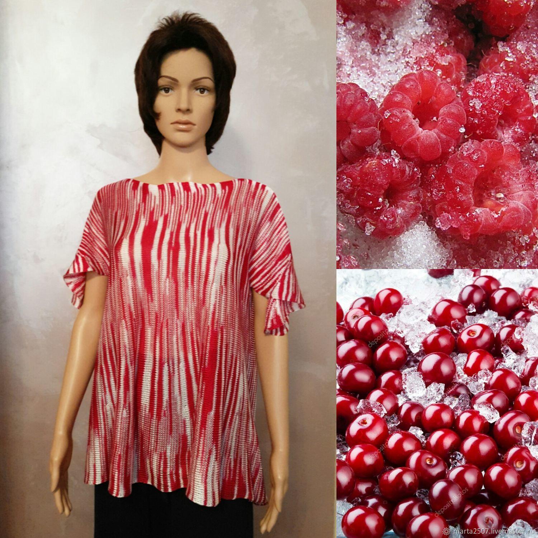 Summer top ' Raspberry caramel', Tops, Vladimir,  Фото №1