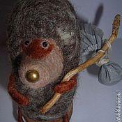 Куклы и игрушки ручной работы. Ярмарка Мастеров - ручная работа Ёжики в тумане. Валяные игрушки. Handmade.