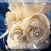 """Свадебный салон ручной работы. Ярмарка Мастеров - ручная работа """"Роза цвета Айвори"""". Handmade."""