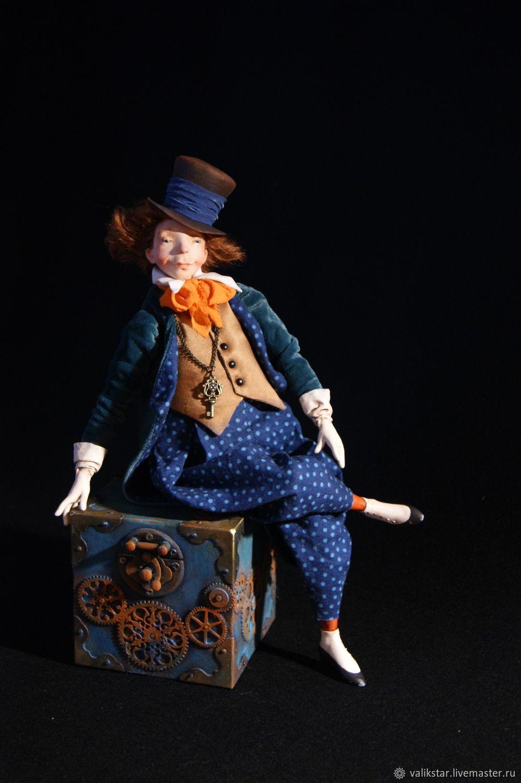 Интерьерная кукла: Великий фокусник – купить на Ярмарке Мастеров – MOD5MRU | Интерьерная кукла, Москва