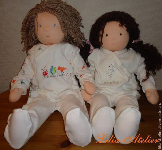 Вальдорфская игрушка ручной работы. Ярмарка Мастеров - ручная работа. Купить Братик и сестрёнка. Handmade. Вальдорфские куклы, подарок на рождение