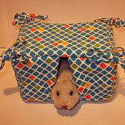 Для домашних животных, ручной работы. Ярмарка Мастеров - ручная работа Домики Квадрат. Handmade.