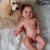 Куклы и игрушки ручной работы. Ярмарка Мастеров - ручная работа Силиконовая малышка 54см Ангелина. Handmade.