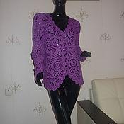 Одежда handmade. Livemaster - original item jacket lilac. Handmade.