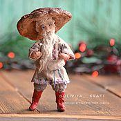 Сувениры и подарки handmade. Livemaster - original item Christmas decorations: Cotton toy