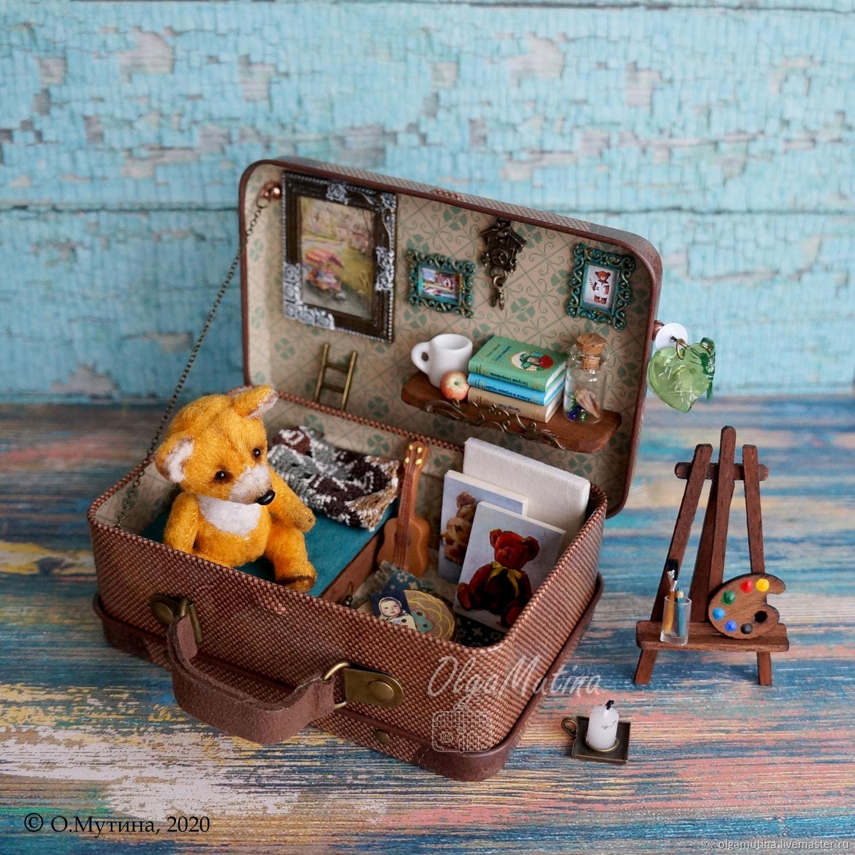 ЧемоДомик для Лиса-художника (НА ЗАКАЗ), Кукольные домики, Чебоксары,  Фото №1