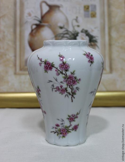 Винтажные предметы интерьера. Ярмарка Мастеров - ручная работа. Купить Фарфоровая ваза, Royal Porzellan Bavaria KPM, Германия. Handmade.