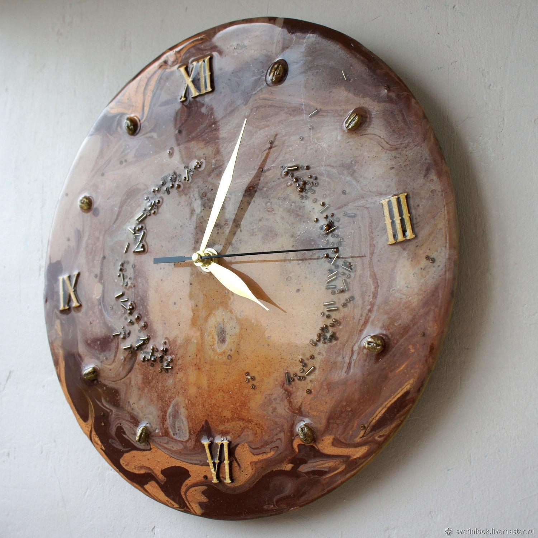 Wall clock  Time cappuccino