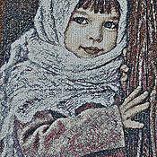 """Картины и панно ручной работы. Ярмарка Мастеров - ручная работа Вышитая картина """"Машенька"""". Handmade."""
