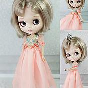 Куклы и игрушки handmade. Livemaster - original item Blythe Princess. Dress peach color.. Handmade.