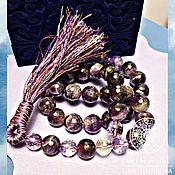 Фен-шуй и эзотерика handmade. Livemaster - original item A rosary AMULET of AMETHYST 33 GRAIN.. Handmade.