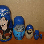 Подарки к праздникам handmade. Livemaster - original item Matryoshka Monsters on vacation. Handmade.