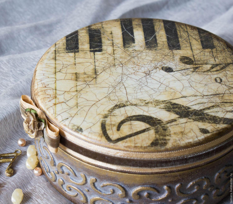 Как сделана музыкальная шкатулка