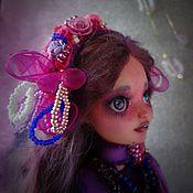 Куклы и игрушки handmade. Livemaster - original item BlackBerry. Purple mood. OOAK.. Handmade.