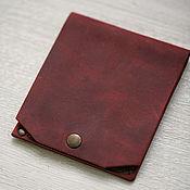 Сумки и аксессуары handmade. Livemaster - original item Berkeley men`s wallet for bills and credit cards. Handmade.
