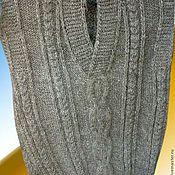 Одежда ручной работы. Ярмарка Мастеров - ручная работа Безрукавки мужские из шерсти. Handmade.