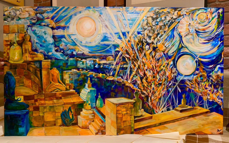 Картина «ЯМАНИЯМА», Картины, Москва,  Фото №1