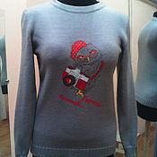 Одежда ручной работы. Ярмарка Мастеров - ручная работа Пуловер женский  Decor. Handmade.
