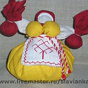 Куклы и игрушки ручной работы. Ярмарка Мастеров - ручная работа Кубышка-травница. Handmade.