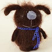 Подарки к праздникам ручной работы. Ярмарка Мастеров - ручная работа Вязаная собака игрушка вязаная собачка амигуруми. Handmade.
