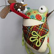 Сувениры и подарки ручной работы. Ярмарка Мастеров - ручная работа магнит Лягушка. Handmade.