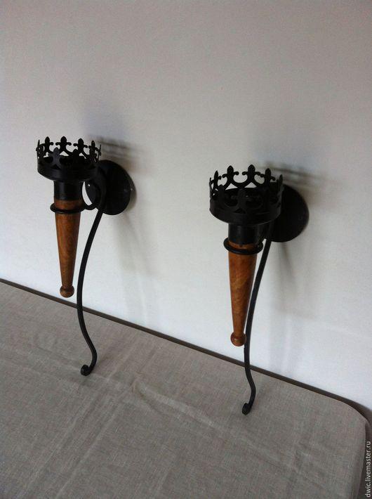 Винтажные предметы интерьера. Ярмарка Мастеров - ручная работа. Купить Подсвечники, художественная ковка металла, ручная работа, Голландия. Handmade.