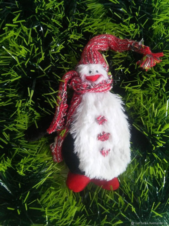 Новогоднее украшение Пингвин