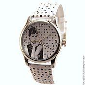 Украшения ручной работы. Ярмарка Мастеров - ручная работа Дизайнерские наручные часы Audrey Hepburn_dots. Handmade.