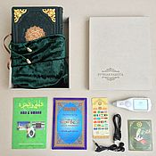 Сувениры и подарки handmade. Livemaster - original item Koran pen in leather cover, velvet pouch and case. Handmade.